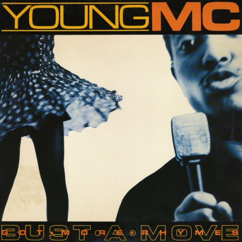 YOUNG MC - Bust A Move / Got More Rhymes - 12'' 1枚