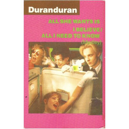 Duran Duran - All She Wants Is / I Believe / All I Need To Know (medley)
