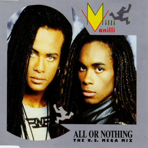 MILLI VANILLI - All Or Nothing - CD single