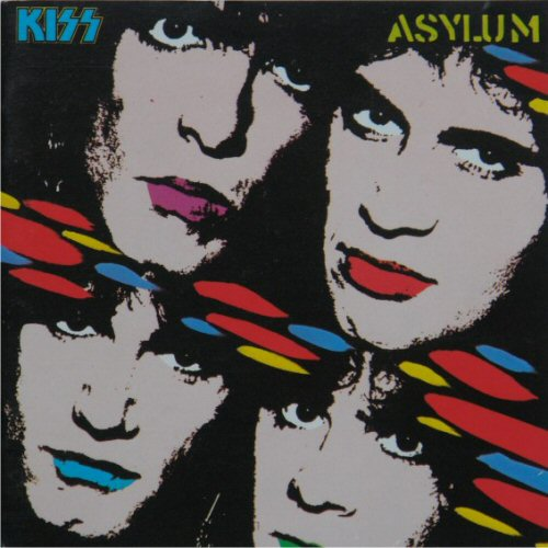 Kiss - Asylum (west German Import)