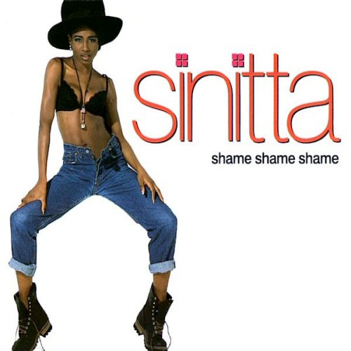 SINITTA - Shame Shame Shame - CD single
