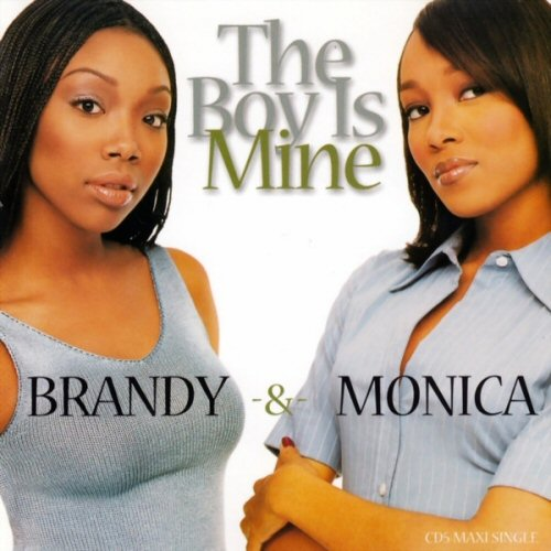 BRANDY AND MONICA - The Boy Is Mine - CD single