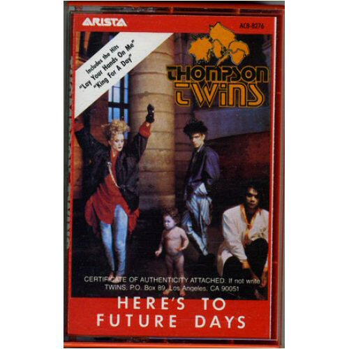 THOMPSON TWINS - Heres To Future Days Album