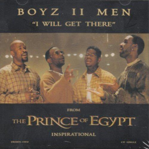 BOYZ II MEN - I Will Get There - CD single