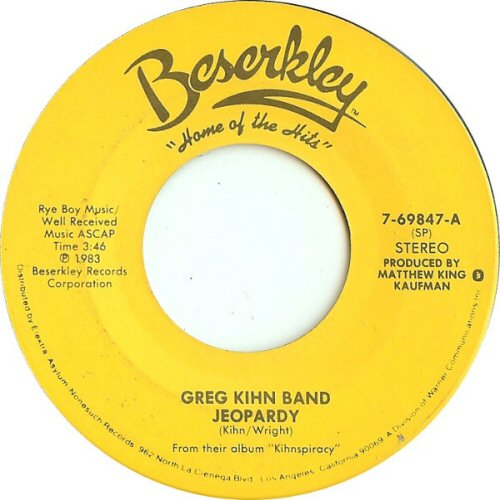 Greg Kihn Band - Jeopardy / Fascination