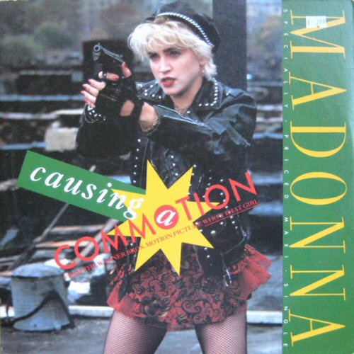 Madonna - Causing A Commotion / Jimmy Jimmy