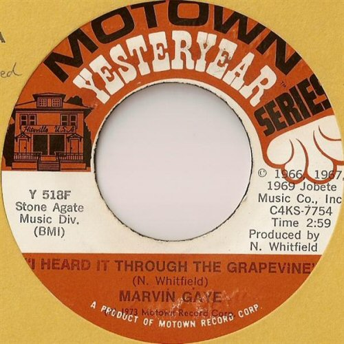 Marvin Gaye - I Heard It Through The Grapevine Vinyl