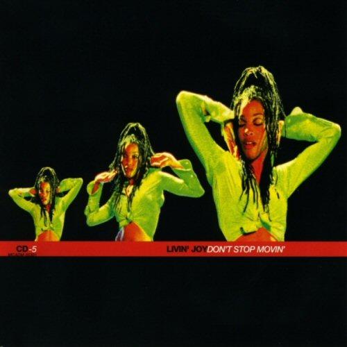 LIVIN' JOY - Don't Stop Movin' - CD single