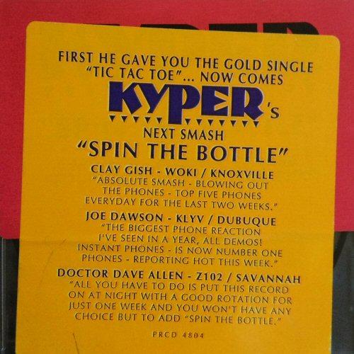 KYPER - Spin The Bottle - CD single
