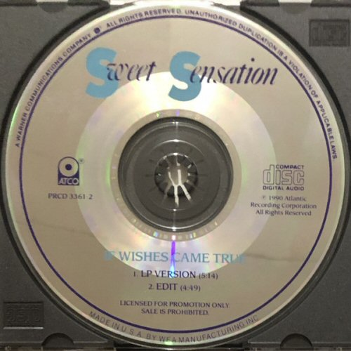 SWEET SENSATION - If Wishes Came True - CD single