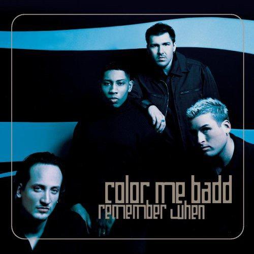 COLOR ME BADD - Remember When - CD single