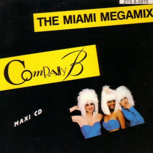 COMPANY B - The Miami Megamix - CD single