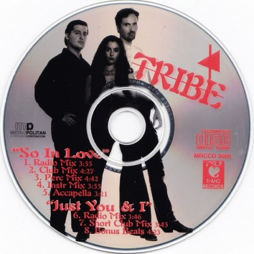 TRIBE - So In Love / Just You And I - CD single