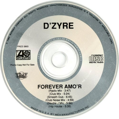 D' ZYRE - Forever Amo'r - CD single