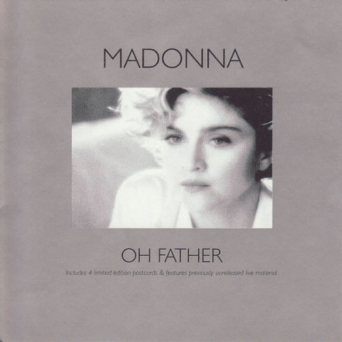 Madonna - Oh Father / Live To Tell / Why It's So Hard (includes 4 Postcards)