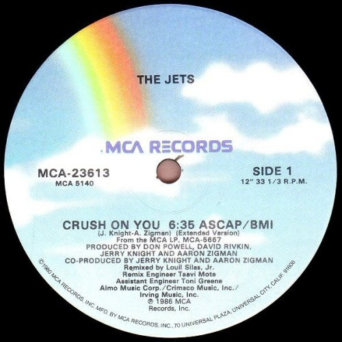 Jets Crush+On+You 12'':SINGLE