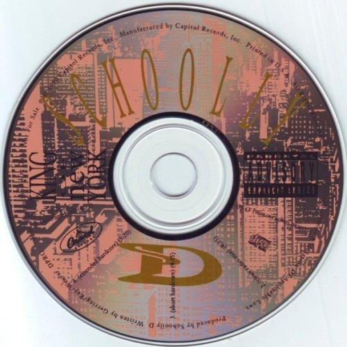 SCHOOLLY D - King Of New York - CD single