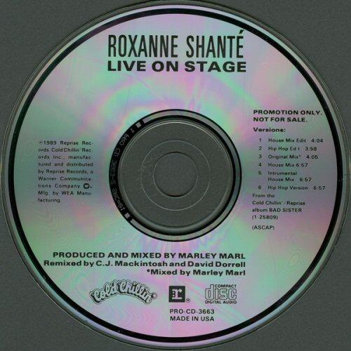 ROXANNE SHANTE - Live On Stage - CD single