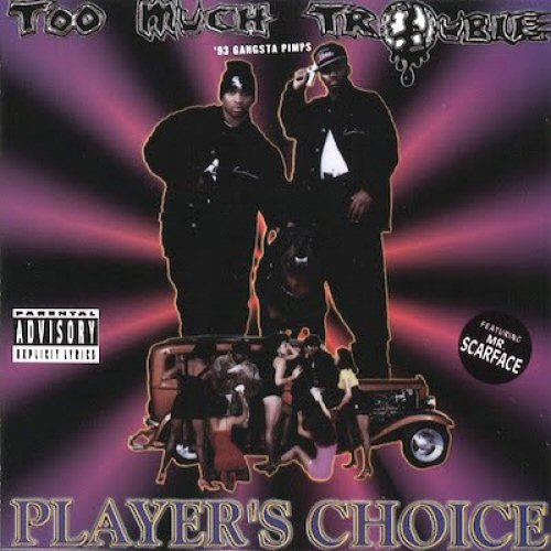 TOO MUCH TROUBLE - Player's Choice - CD