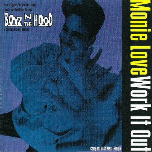 MONIE LOVE - Work It Out - CD single