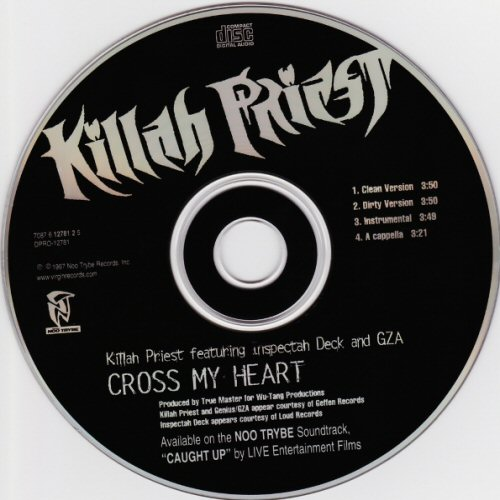 KILLAH PRIEST - Cross My Heart - CD single