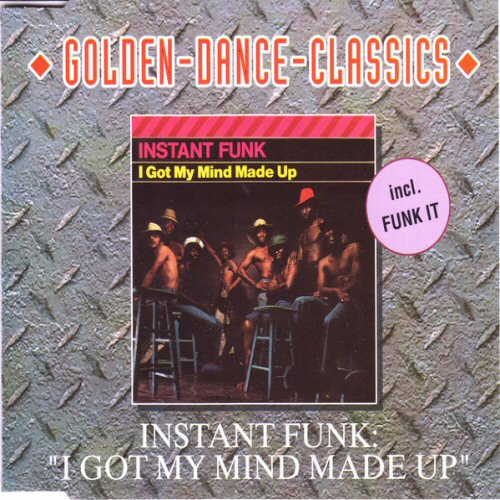 Instant Funk The Funk Is On : Instant funk i got my mind made up records lps vinyl and