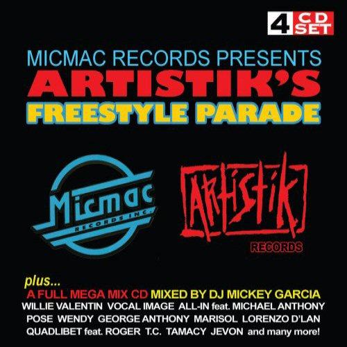 VARIOUS - Micmac Records Presents Artistik's Freestyle Parade - Coffret CD