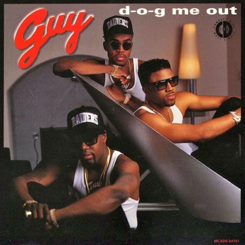 GUY - D-O-G Me Out - CD single