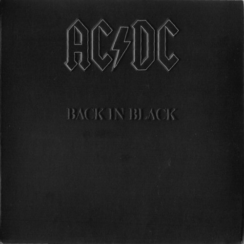 Back In Black Ac Dc: Ac/dc Back In Black Records, LPs, Vinyl And CDs