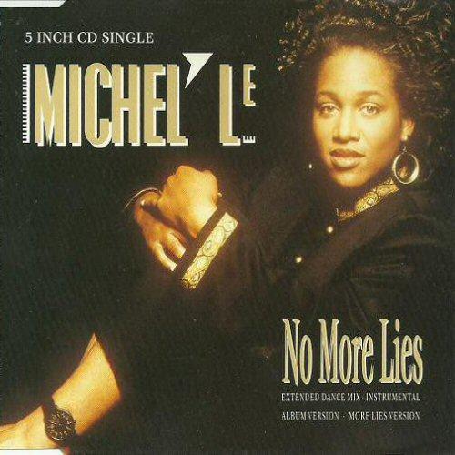 MICHEL'LE - No More Lies - CD single