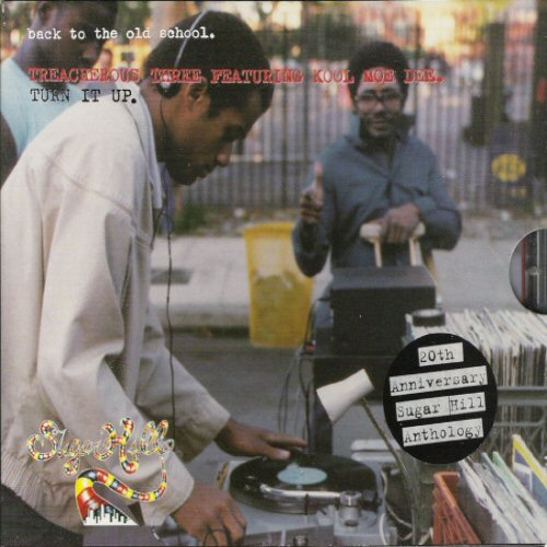 TREACHEROUS THREE FEATURING KOOL MOE DEE - Back To The Old School (Turn It Up) - CD