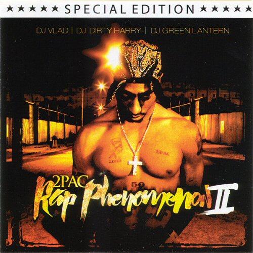 DJ VLAD, DJ DIRTY HARRY & DJ GREEN LANTERN - 2Pac Rap Compilation II - CD