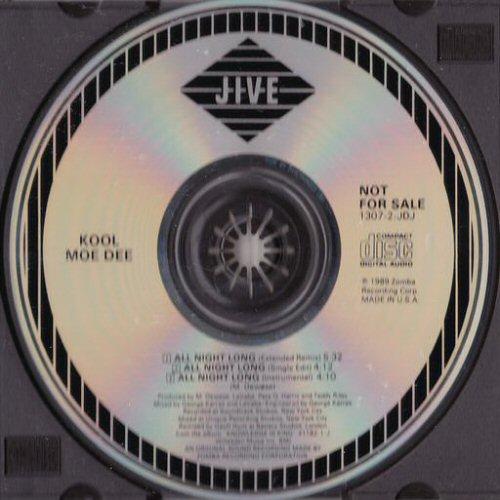 KOOL MOE DEE - All Night Long - CD single