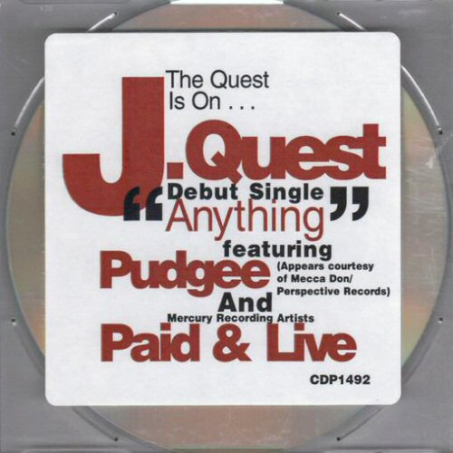 J QUEST - Anything - CD single