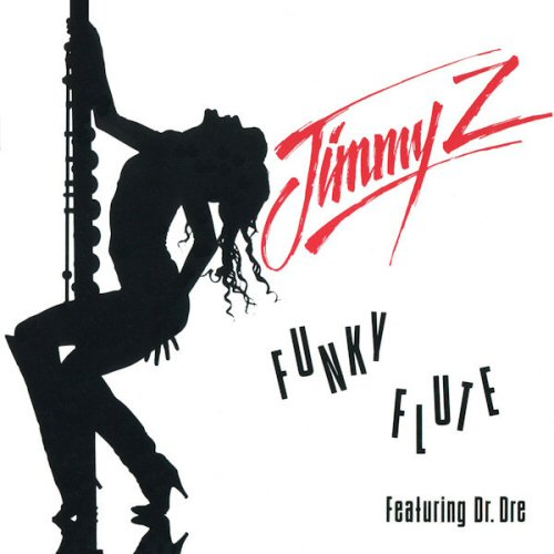 JIMMY Z FEATURING DR. DRE - Funky Flute - CD single