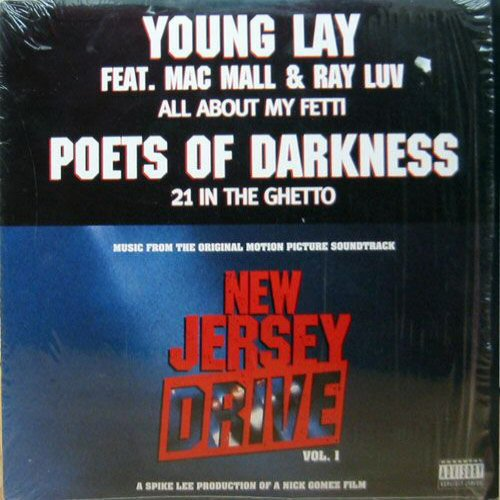 YOUNG LAY / POETS OF DARKNESS - All About My Fetti - CD single