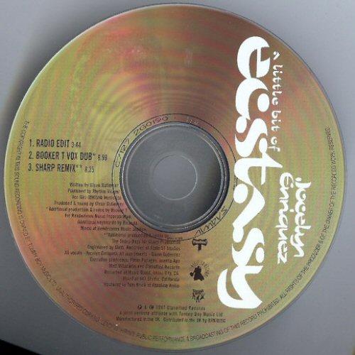 JOCELYN ENRIQUEZ - A Little Bit Of Ecstasy - CD single