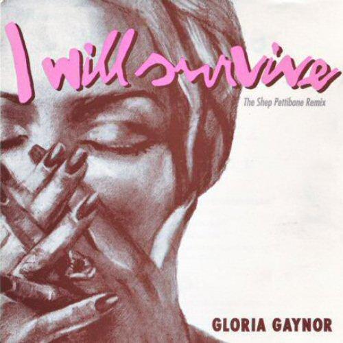 GLORIA GAYNOR - I Will Survive (The Shep Pettibone Remix) - CD single