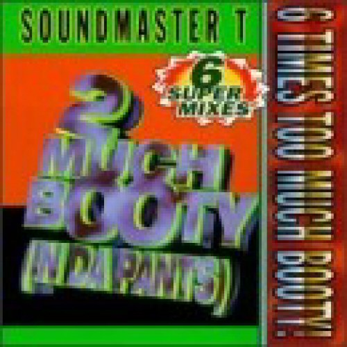 SOUNDMASTER T - 2 Much Booty (In Da Pants) - CD single